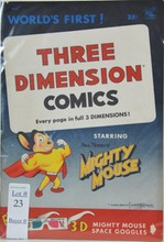 1953 Volume 1 Mickey Mouse with 3D Glasses
