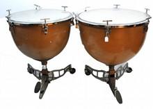 1 Pair of Slingerlind Tympani Drums