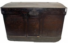 Antique Japanese trunk