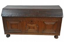 English Oak Coffer 52