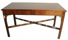 Chinese Chippendale Library Table 54x26