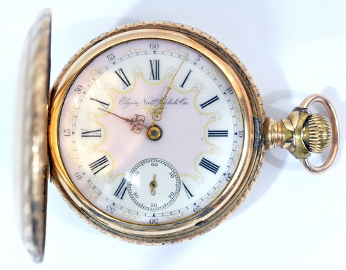 6 antique pocket watches