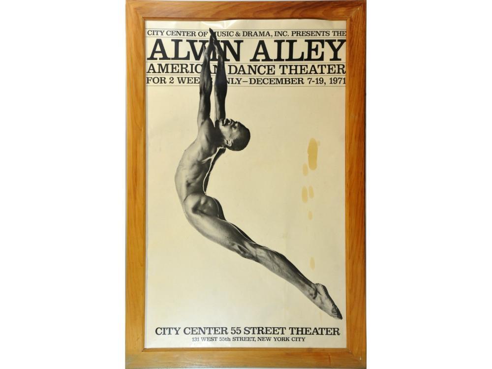 Alvin Ailey Vintage Framed Poster