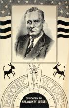 Fdr 1st Day Cover From His Private Collection