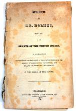 1830 Mr. Holmes Of Maine Speech To The Us Senate