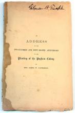 1865 Popham Colony Address