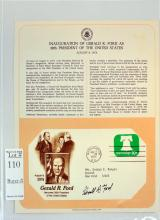 Gerald Ford Signed 1st Day Cover