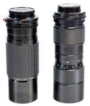 Two Vintage Canon Camera Lenses