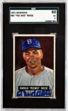 1951 Bowman Pee Wee Reese Rookie