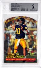 2000 Ultra Tom Brady Rookie Card Bvg 9