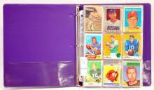 129 Baseball /Football Cards 1948-1969