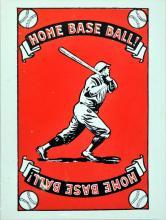 1930's Babe Ruth Homerun Baseball Premium