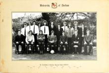 1970-71 University Of Durham Soccer Photo