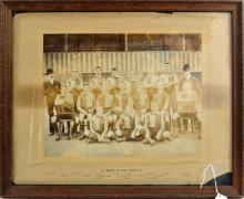 1902-03 Newport 3rd Team Soccer Photo