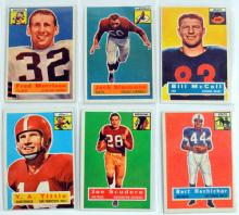 97 1956 Topps Football Cards Loaded With Stars