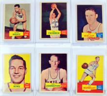 20 1957 Topps Basketball Cards