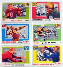 67 1955 Topps All American Football Cards