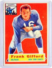 1956 Topps Frank Gifford Ungraded