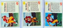 47 1962 Post Cereal Football Cards