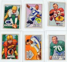9 1951 Bowman Football Cards