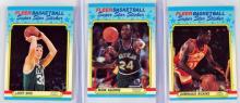 11 1988 Fleer Basketball Stickers