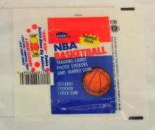 1985 Fleer Basketball Wrapper
