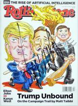 Donald Trump Signed Rolling Stone Magazine