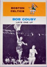 1961 Fleer Bob Cousy Card #49