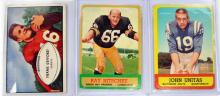 Three Vintage Football Cards