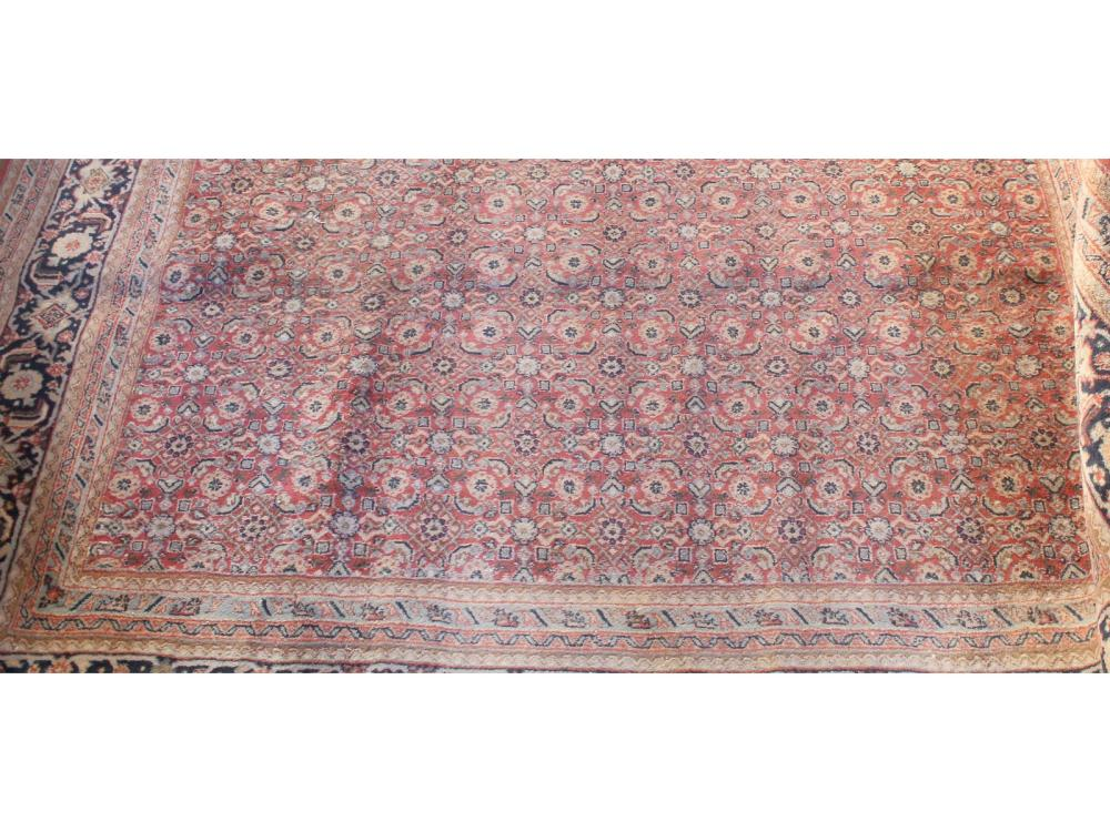 Semi Antique Bijar Rug
