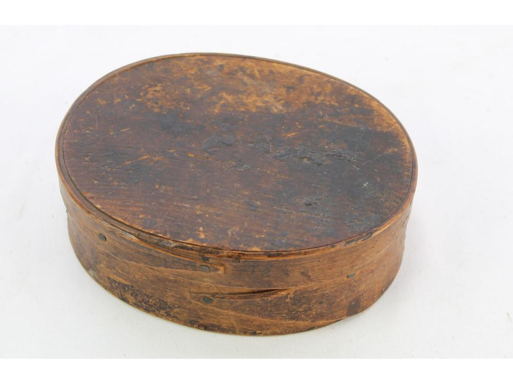 Small Oval Shaker Box