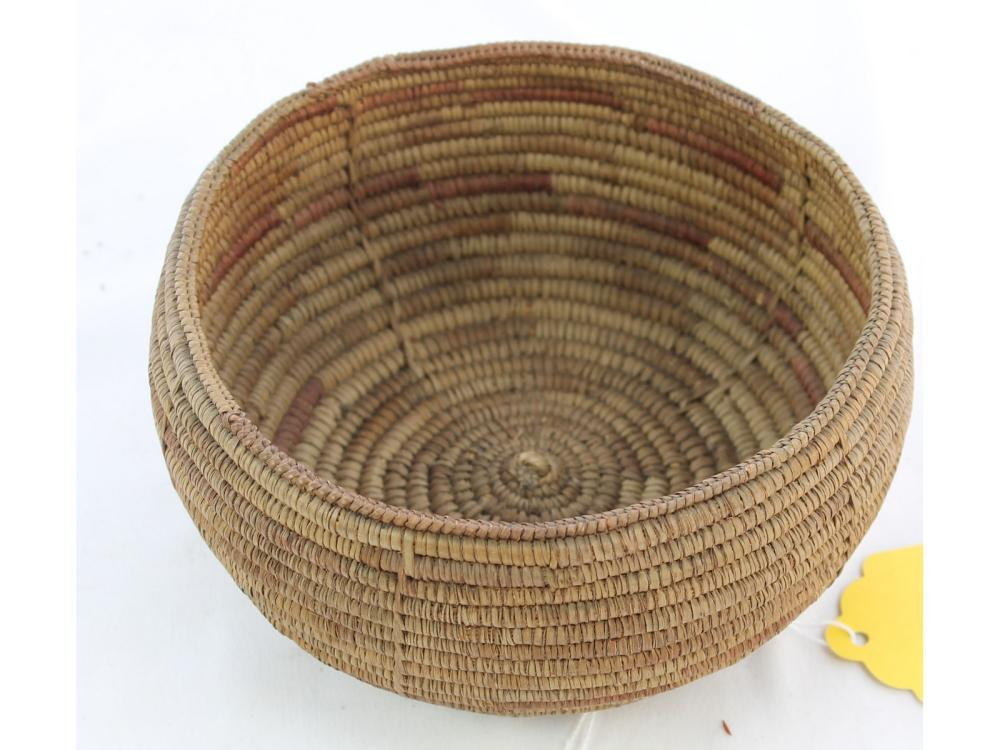 Antique Southwest Native American Coil Basket