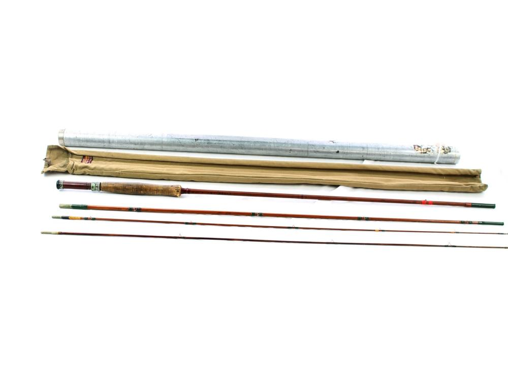 Antique Heddon Split Bamboo Fly Rod