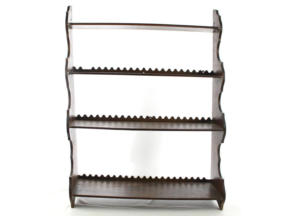 Vintage Wall Shelf 4 Tier