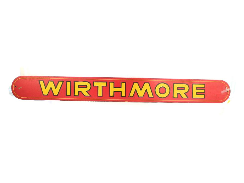 6 Foot Double Side Wirthmore Sign