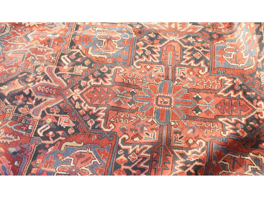 Fine Semi Antique Heriz Palace Size Rug