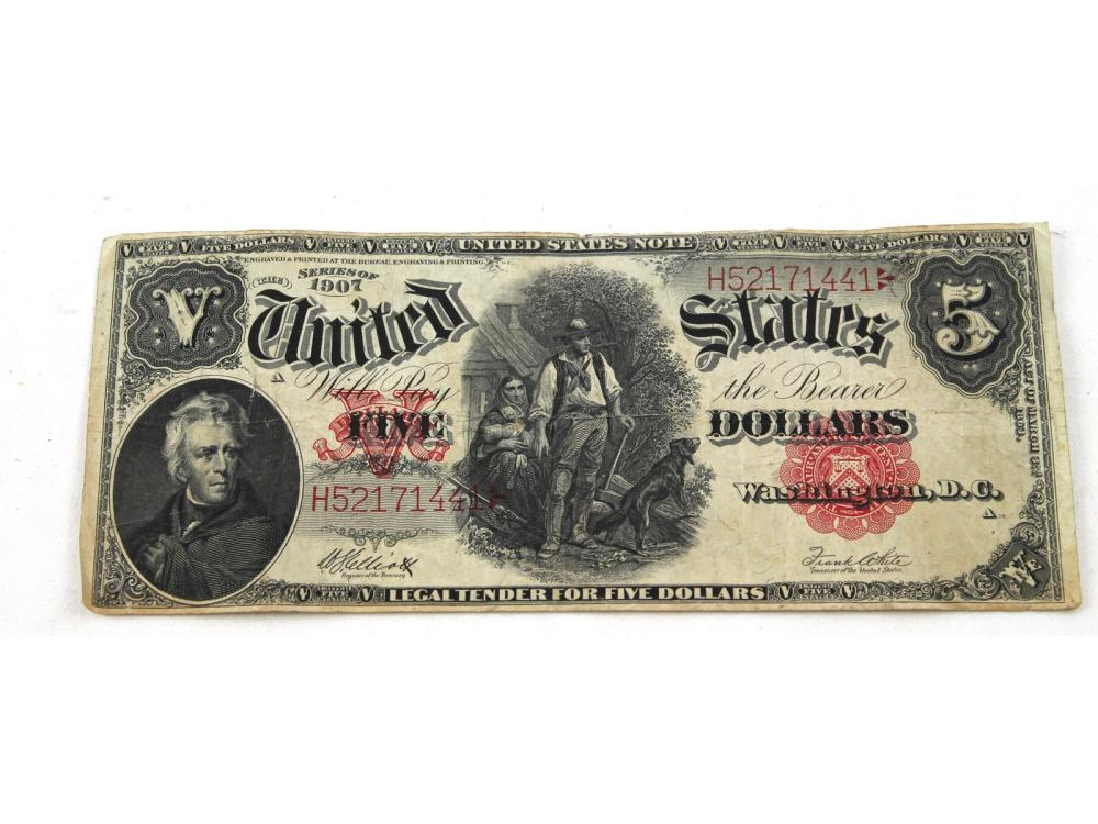 Estate Antique Paper Money