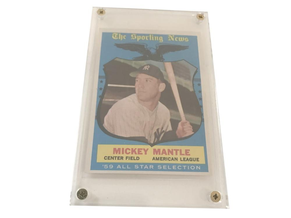Gradeable 1959 Topps Mickey Mantle All Star #564