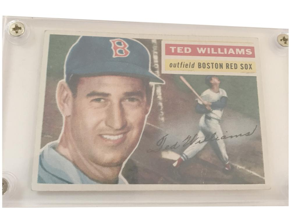 1956 Topps Ted Williams #5