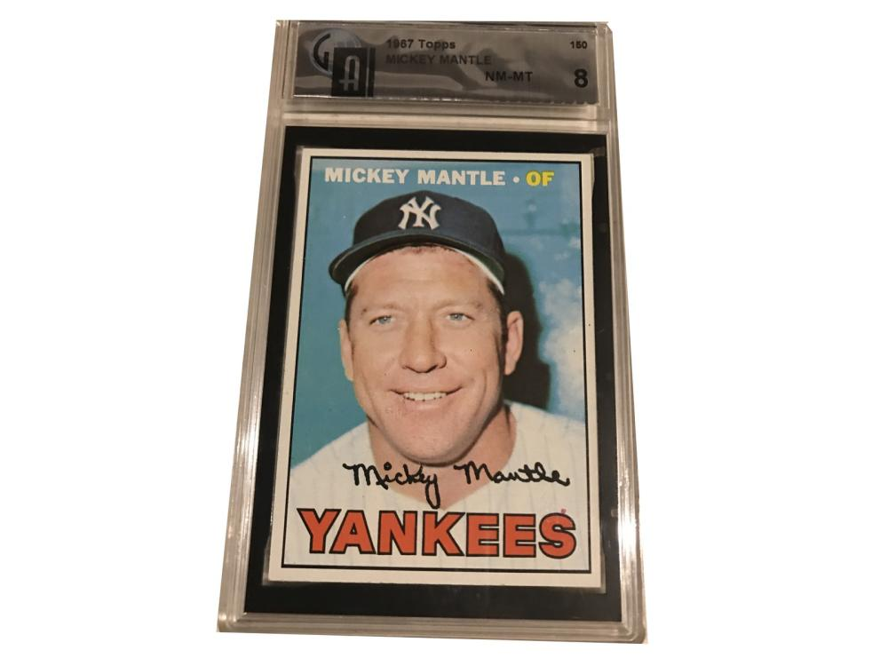 1967 Topps Mickey Mantle Ga 8