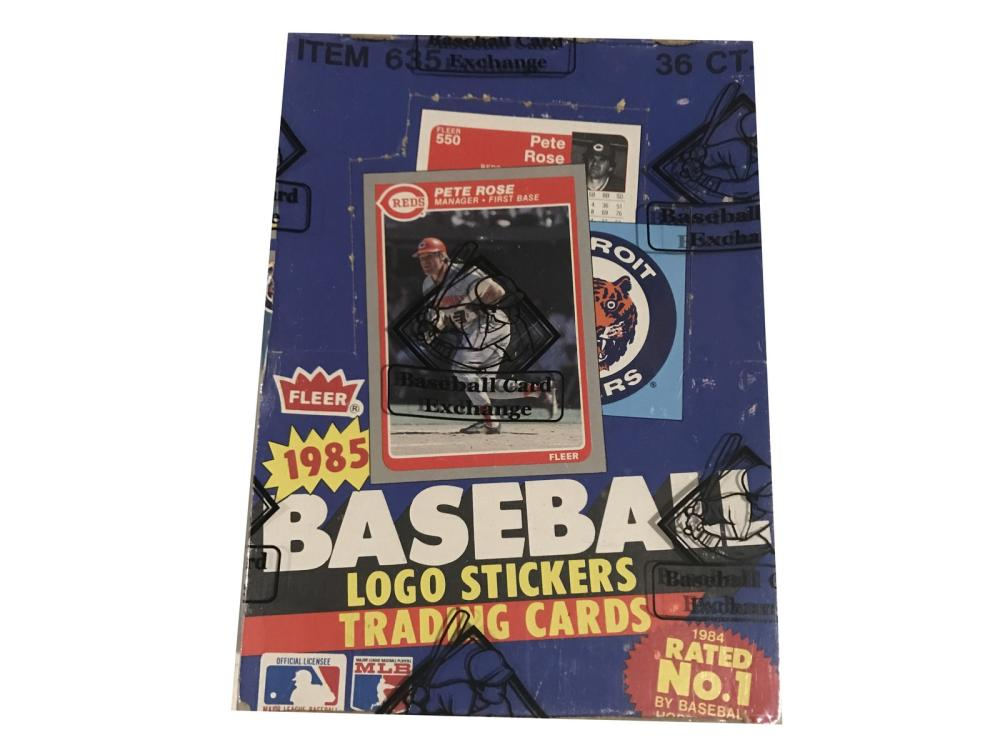 1985 Fleer Baseball Unopened Wax Box-sealed By Bbe
