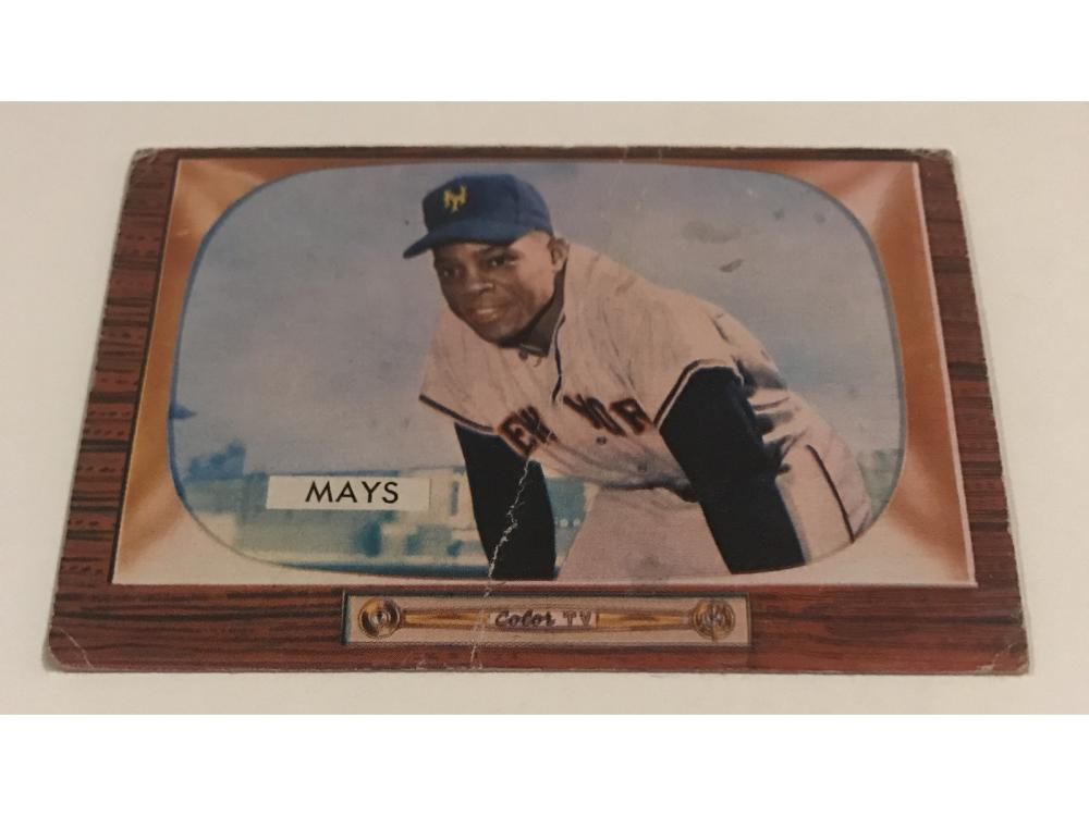 (5) Low/mid Grade Topps/bowman Willie Mays (1955-)