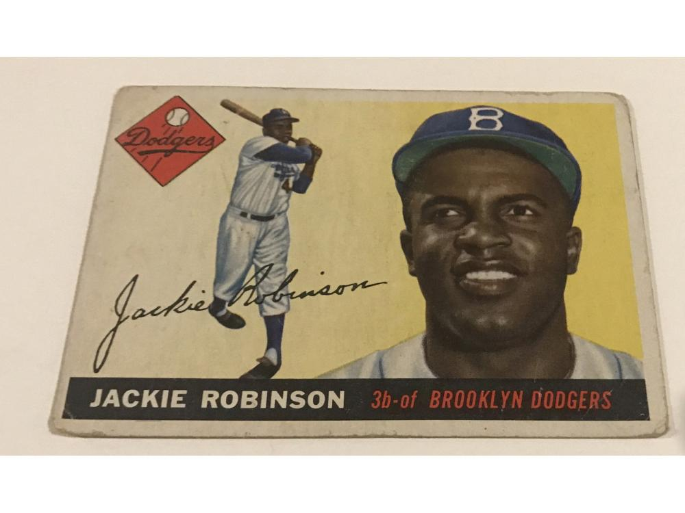 1955 Topps Jackie Robinson #50