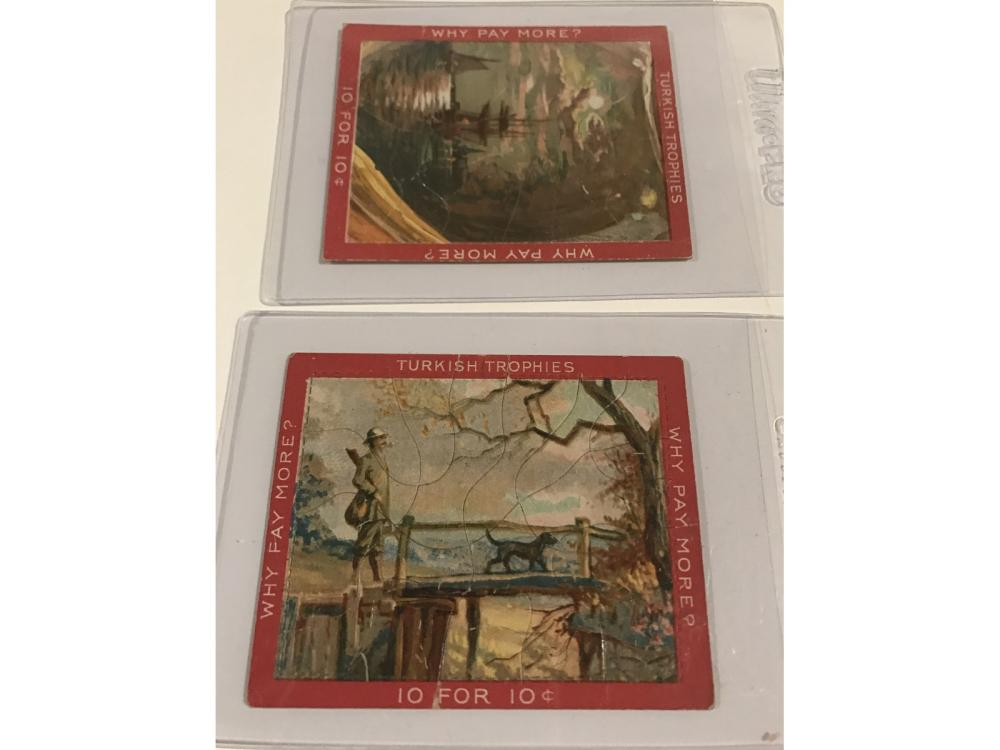 (27)1910 T76 Turkish Trophy Puzzle Cards