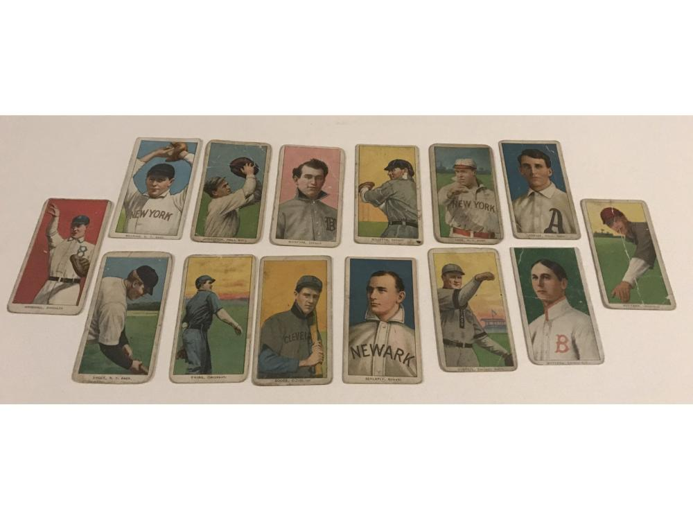 (14) Collection Of 1909-11 T206 Tobacco Cards