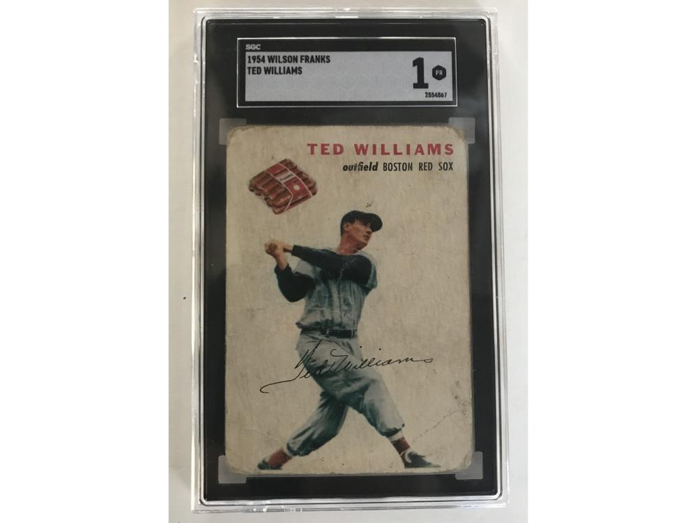 Sgc 1 1954 Wilson Franks Ted Williams