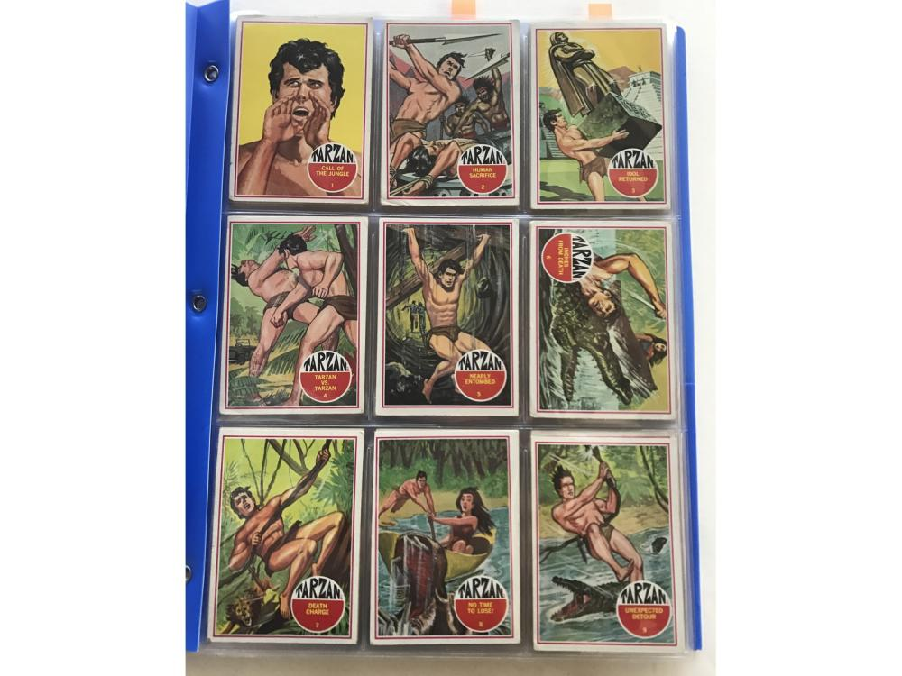 1966 Banner Productions-tarzan Complete Set