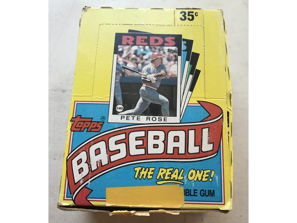 2 1986 Topps Wax Boxes