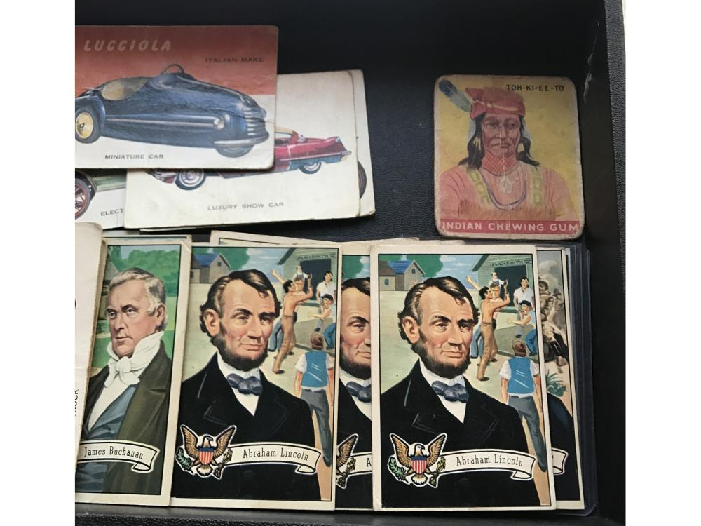 59 1950's Non Sports Cards Us Presidents