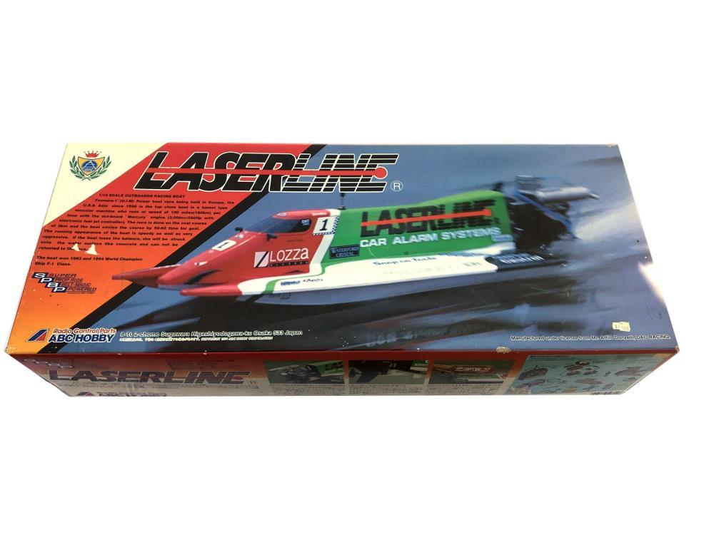 Vintage Laserline Boat Model New In Box